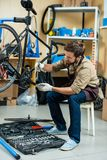 Ремонтировать педаль стоковая фотография rf