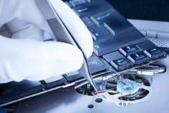 ремонтировать тетради вентилятора Стоковое Изображение