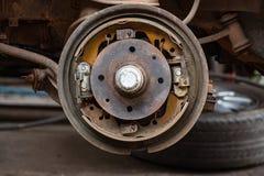 Ремонтировать тормозные колодки Стоковое Изображение