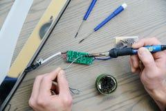 Ремонтировать электропитание Стоковая Фотография RF