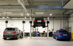 Ремонтная мастерская автомобиля Стоковое Изображение RF