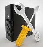 Ремонтныа услуги компьютера Бесплатная Иллюстрация