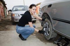Ремонты автомобиля Стоковые Фото