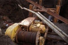 Ремонты под землей Стоковая Фотография RF