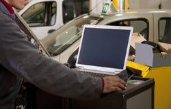 ремонт автомобиля Стоковое фото RF