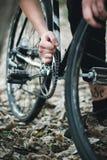 Ремонт велосипеда Стоковое Изображение
