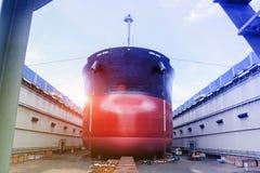 Ремонт грузового корабля Стоковое Изображение