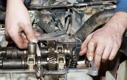 Ремонт двигателя Стоковое Изображение RF