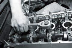 ремонт двигателя Стоковые Изображения RF
