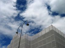 ремонт здания вниз Стоковые Изображения RF