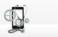 Ремонт знамени мобильных телефонов бесплатная иллюстрация