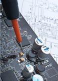 ремонт компенсации компьютера агрегата стоковые изображения rf