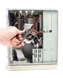 ремонт компьютера Стоковое фото RF