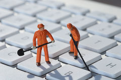 ремонт компьютера Стоковая Фотография