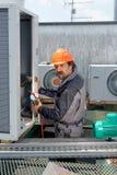 Ремонт кондиционирования воздуха, Стоковое Фото