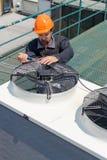 Ремонт кондиционирования воздуха, Стоковая Фотография