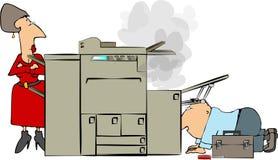 ремонт копировальной машины Стоковое фото RF