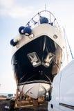 Ремонт корабля в сухом доке, Кипре Стоковая Фотография