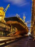 Ремонт корабля Стоковая Фотография RF