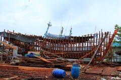 Ремонт корабля стоковые изображения rf
