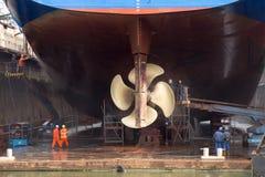 Ремонт корабля Стоковые Фото