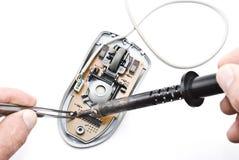 ремонт мыши компьютера Стоковые Фото