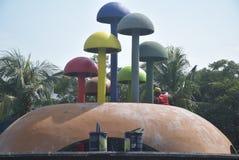 Ремонт сада и картина грибов Стоковые Изображения RF
