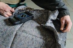 Ремонт топления автокресла Стоковые Изображения RF