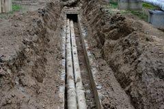 ремонт трубопровода Стоковая Фотография RF