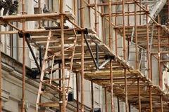 Ремонт фасада здания Стоковое Фото