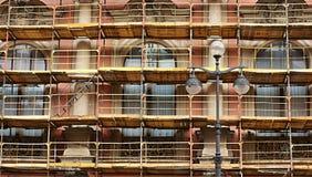 Ремонт фасада здания Стоковая Фотография