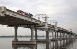 Ремонт центрального моста Стоковое Изображение RF