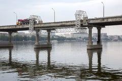 Ремонт центрального моста Стоковая Фотография