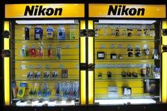 ремонт nikon камеры разбивочный стоковые фотографии rf