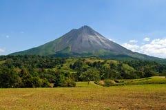 дремлющий вулкан Стоковая Фотография RF