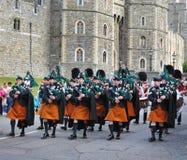 ренджеры полосы ирландские маршируя королевские Стоковое фото RF