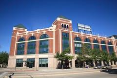 ренджеры texas бейсбольного стадиона arlington Стоковое Изображение RF