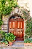 ренессанс двери передний Стоковая Фотография