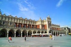 Ренессанс Sukiennice в Кракове Польше стоковое изображение