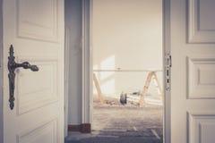 Реновация/восстановление - улучшение дома, стоковая фотография