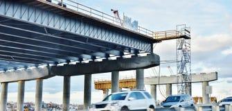 Реновация мостов пояса Нью-Йорка Бруклина pkwy Стоковая Фотография