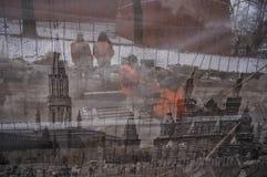Реновация на красной площади Стоковое фото RF