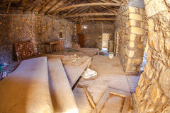 реновация дома старая Стоковые Изображения