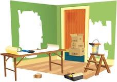 Реновация дома Стоковая Фотография