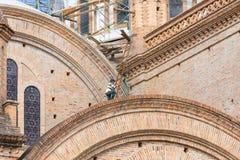 Реновация собора Cuenca эквадора Стоковая Фотография RF