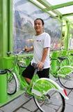 рента bikes Стоковые Фотографии RF