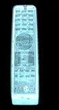 Рентгеновский снимок регулятора remote ТВ Стоковое Изображение