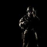 Ренджер армии Соединенных Штатов стоковое изображение rf