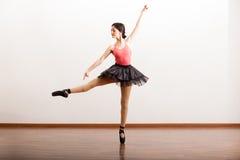 Репетировать в академии танца Стоковые Изображения RF