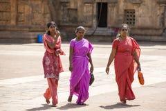 Репортажно-документальное изображение Висок Tami Nadu Индия Tanjore стоковое изображение
